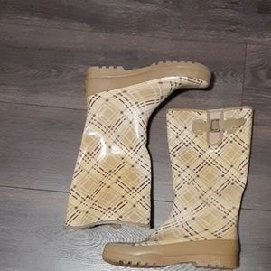 Sperry topsiders rain boots